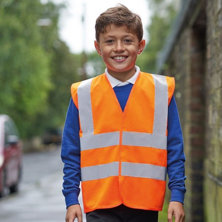 High Visibility Safety Waistcoat - Child